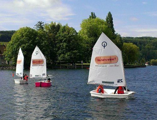 UK-Sails im Einsatz bei Optimisten Jugendsegler