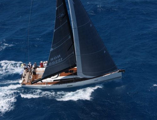 Mit Uni-Titanium UK-Sails an Caribbean 600