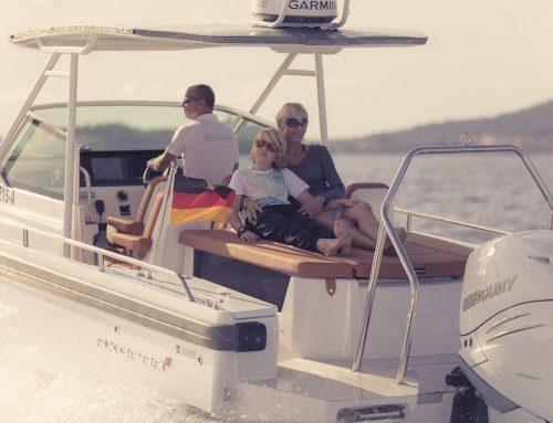 Nimbus 365 und Axopar an der InWater-BoatShow 17.-19. Aug. '18